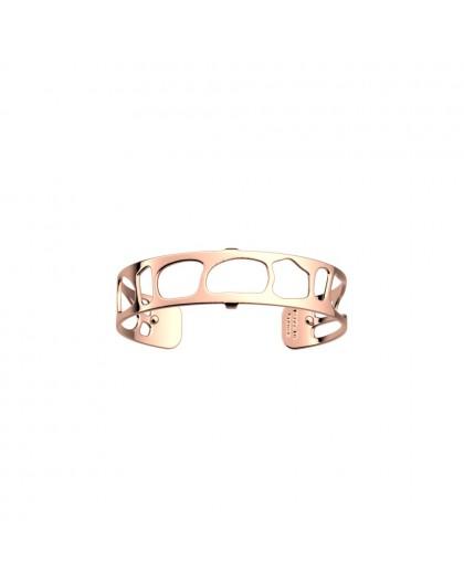Bracelet Les Georgettes 14mm small léopard rosé