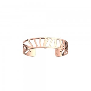 Bracelet Les Georgettes 14mm small perroquet rosé