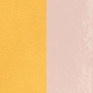 Cuir Les Georgettes 25mm Rose verni/Citron