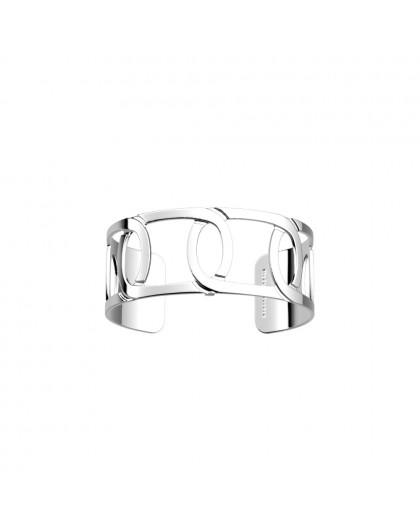 Bracelet Les Georgettes Maillon argenté 25mm
