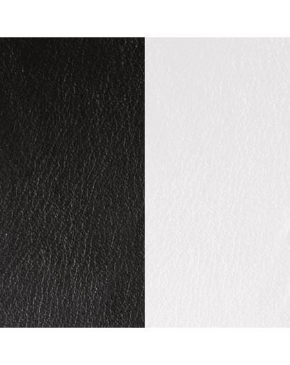 Cuir Les Georgettes 25mm Noir/Blanc