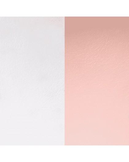 Cuir Les Georgettes 40mm Gris clair/Rose