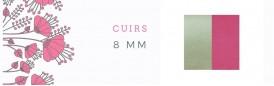 Cuirs 8mm