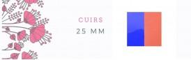 Cuirs 25mm
