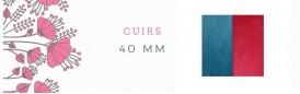 Cuirs 40mm